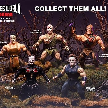 Horror Icons Go to the Savage World from Funko in September