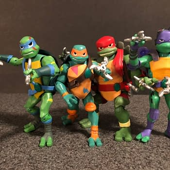 Lets Take a Look at the New Rise of the TMNT Figures From Playmates