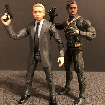 Lets Take a Look at the Target Exclusive Black Panther Marvel Legends Set