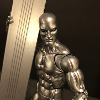 Lets Take a Look at the Marvel Legends Walgreens Exclusive Silver Surfer