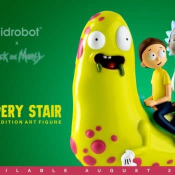 Kid Robot Rick and Morty Slippery Stair Figure 1