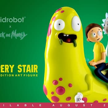 Rick and Morty Slippery Stair Figure Now Available from Kid Robot