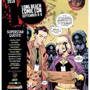 Dan DiDio, Christopher Priest, Mairghread Scott, and Rikishi Headline Star-Studded Long Beach Comic Con Lineup