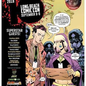 Dan DiDio Christopher Priest Mairghread Scott and Rikishi Headline Star-Studded Long Beach Comic Con Lineup