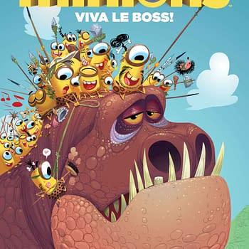 Titan Declassifies New Minions Comic