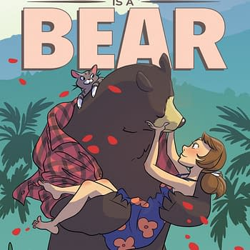 Woman Bear Romance Comic My Boyfriend is a Bear Optioned by Legendary