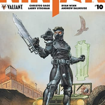 Preview Valiants Ninja-K #10 in Stores Next Week and Touted as a Blockbuster Jumping-On Point