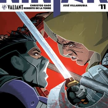 Ninja-K #11 Preview is Perfect Jumping-on Point for Jumping-on Point of Ninja-K #11