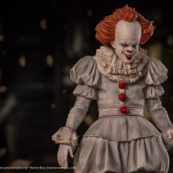 Pennywise Statues Coming in 2019 From Iron Studios