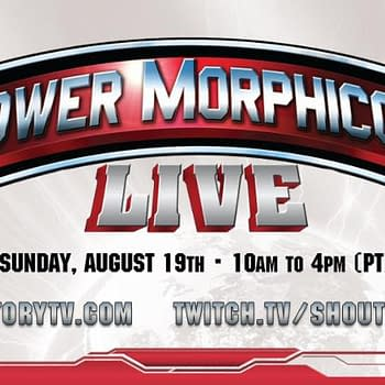 Power Morphicon Streams Live on Shout Factory TV Twitch Channel August 19th