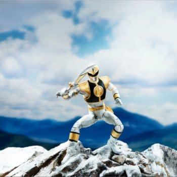 Power Rangers Lightning Collection White Ranger Figure
