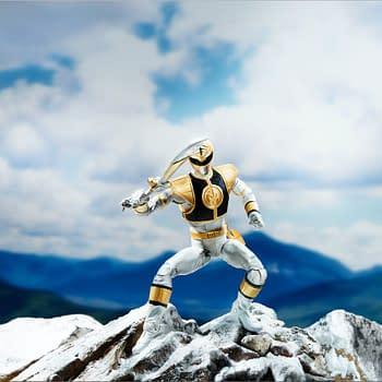 Power Rangers Lightning Collection Hits Spring 2019 from Hasbro – White Ranger Revealed