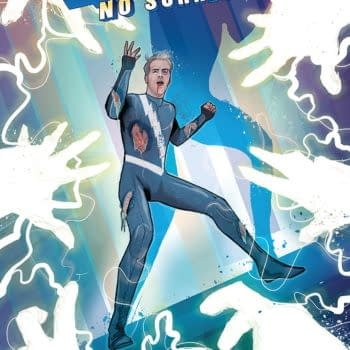 Quicksilver: No Surrender #4 cover by Martin Simmonds