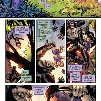 Gail Simones Writers Commentary on Red Sonja/Tarzan #4