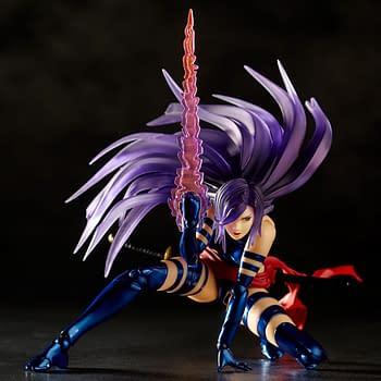 Psylocke Gets a Stunning Amazing Yamaguchi Revoltech Figure Release