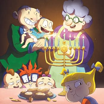 The War on Christmas Comes to Rugrats in C is for Chanukah One-Shot