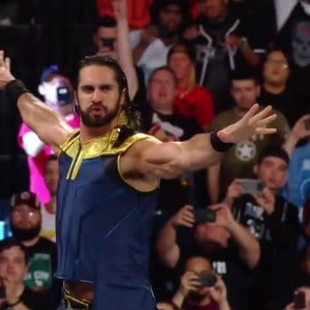 Did Seth Rollins Raid Thanos's Wardrobe for SummerSlam Outfit? [SPOILERS]