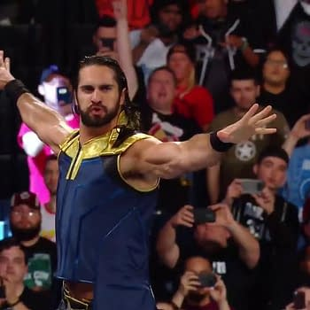Did Seth Rollins Raid Thanoss Wardrobe for SummerSlam Outfit [SPOILERS]
