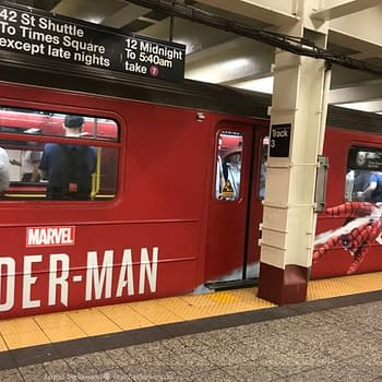 Marvels Spider-Man Has Invaded the New York City Subway System