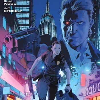 Terminator: Sector War #1 cover by Robert Sammelin