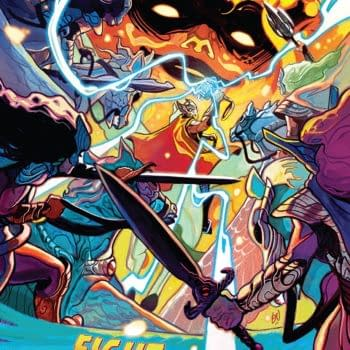 Thor #4 cover by Mike del Mundo