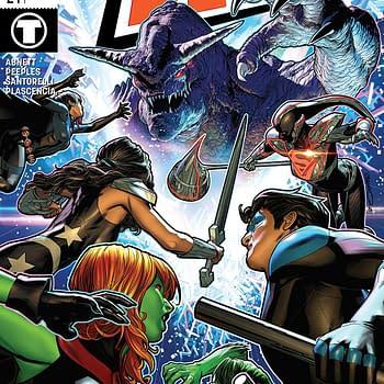 Titans #24 Review: Titans v. Tolkien