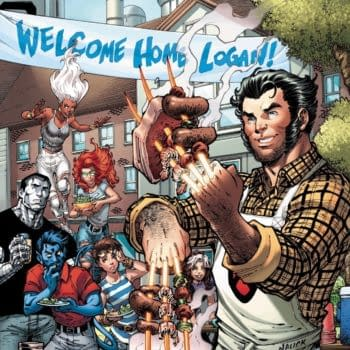 Todd Nauck Revisits Iconic Image for Return of Wolverine #1 Variant