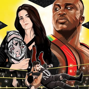 First Look at NXT Takeover: Proving Ground by Dennis Hopeless and Kendall Goode
