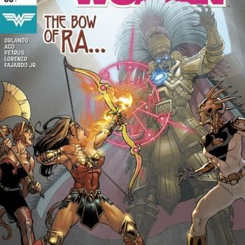 Wonder Woman #53 cover by David Yardin