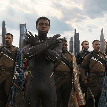 The Black Panther Cast Improvised That Chant in Avengers: Infinity War