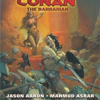 Hither Came Jason Aaron and Mahmud Asrar to Bring Us Marvel's Conan the Barbarian #1