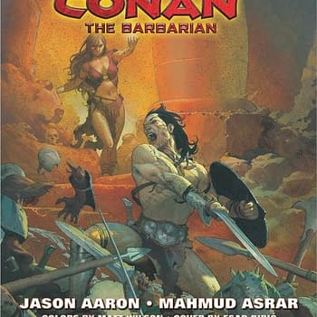 Hither Came Jason Aaron and Mahmud Asrar to Bring Us Marvels Conan the Barbarian #1