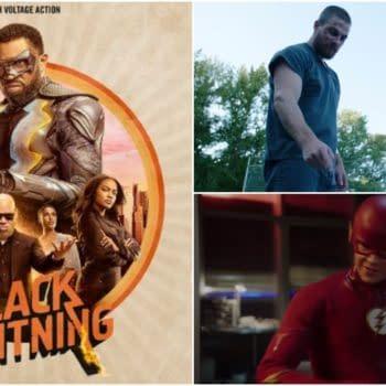 Superheroes Fight Back (Spare Subway) in CW Teaser; 'Black Lightning' Gets New Poster