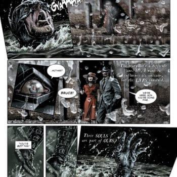 Batman: Damned Preview by Brian Azzarello and Lee Bermejo – John Constantine Prefers Batman to Superman