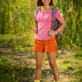 First Look at Live-Action Dora from Dora the Explorer Film