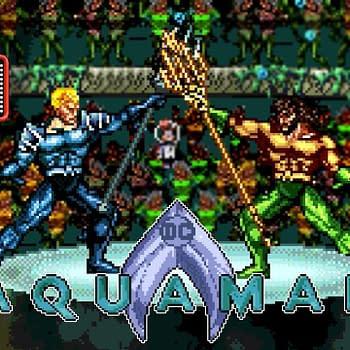 JoBlo Releases Aquaman Trailer in Retro 8-Bit Style