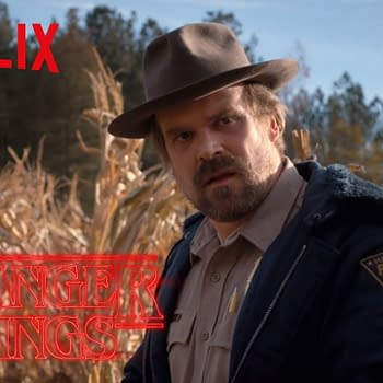Everyone Loves David Harbour Especially The Duffer Brothers
