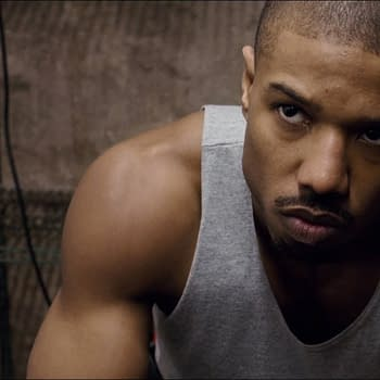 Michael B. Jordan Stops to Visit Kids Doing Jumping Jacks