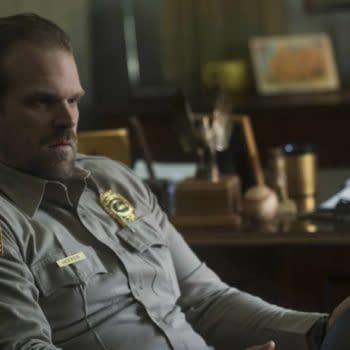 "David Harbour Believes 'Stranger Things' Chief Hopper is ""Very Good Dude"""