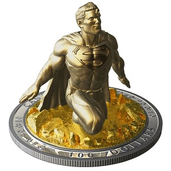 Jason Faboks $100 3D Superman Coin Costs $1200 CAD and Its Already Sold Out