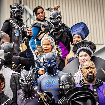 Dragon Con: A Regal of Wakanda Forever Cosplay