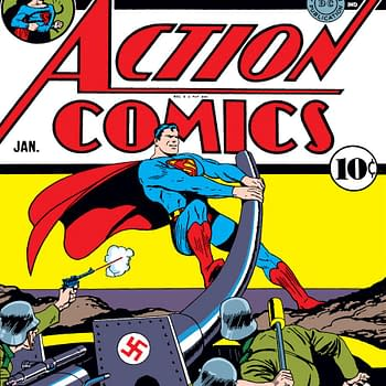 Tom King Andy Kubert Superman Sgt. Rock and Punching Nazis in Their Stupid Faces