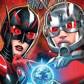 Ant-Man and the Wasp #5 cover by David Nakayama