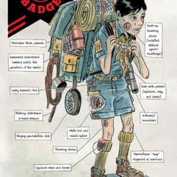 First Look at Matt Kindt and Tyler Jenkins's Black Badge #3