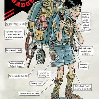 First Look at Matt Kindt and Tyler Jenkinss Black Badge #3