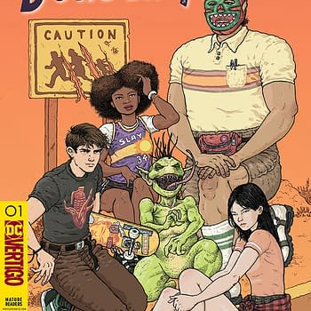 Border Town #1 Review: Its Frigging Awesome