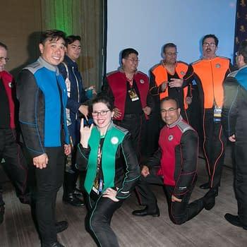 Dragon Con: 'Orville' Cosplay Crew Invades Star Trek 10 Forward Party