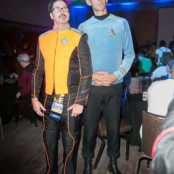 Dragon Con: 'Orville' Cosplay Crew Invades Star Trek 10 Forward Party