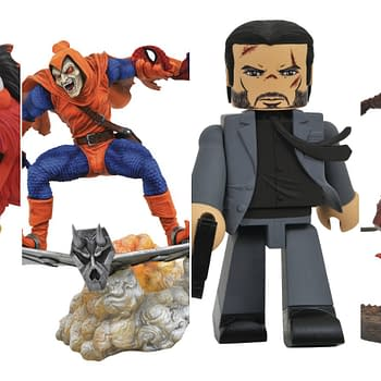 Diamond Select Toys November Solicitations: John Wick Metal Muppets and More