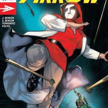 Green Arrow #44 cover by Alex Maleev